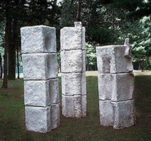 Three Stelae, 1996