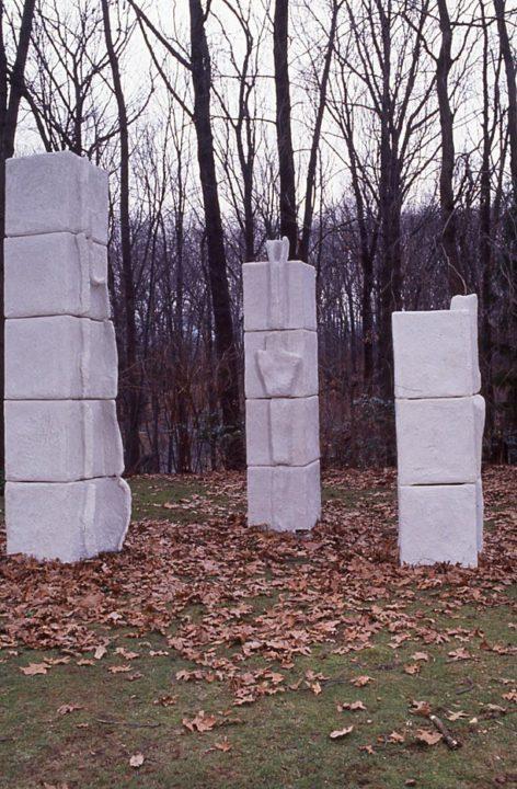 Three Stelae, 1995